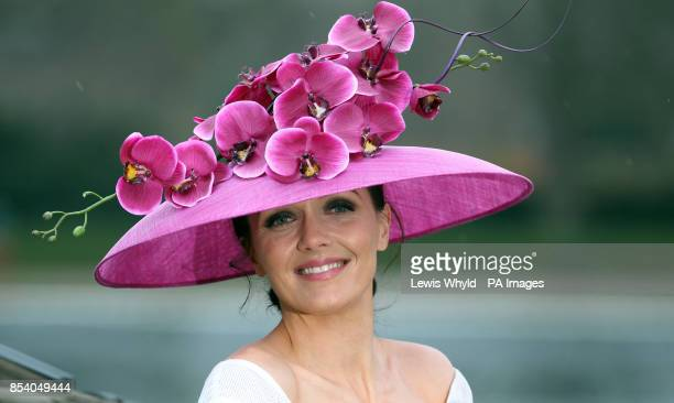 Victoria Pendleton launches the Royal Ascot The Colour and the Glory campaign in Hyde Park London