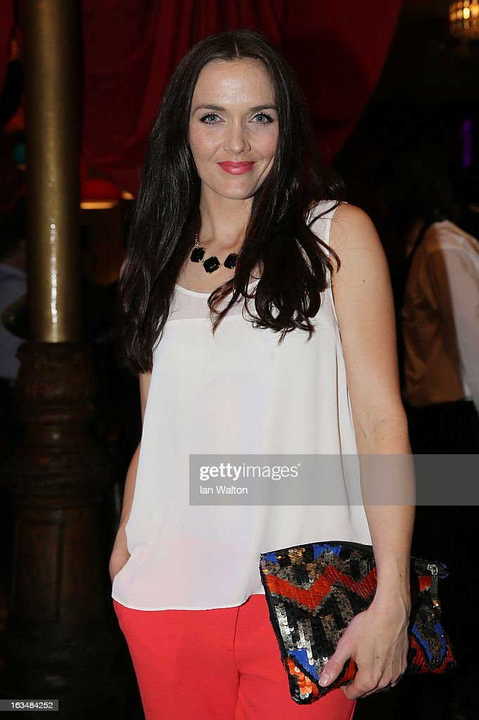 Victoria Pendleton of Great Britain attends the Laureus Welcome Party at the Rio Scenarium during the 2013 Laureus World Sports Awards on March 10, 2013 in Rio de Janeiro, Brazil.