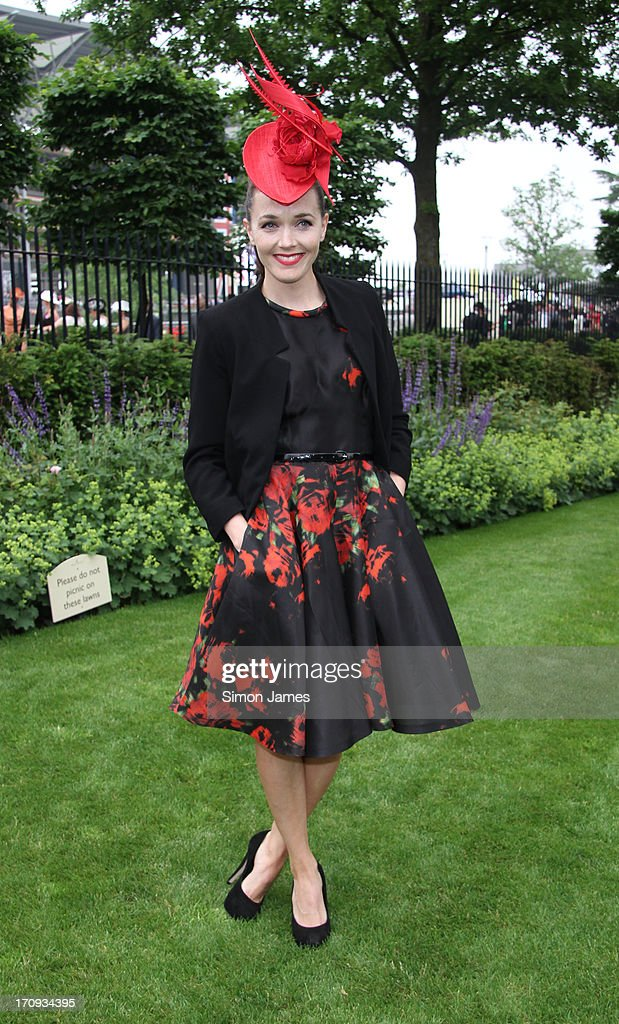 Victoria Pendleton sighting on June 20, 2013 in Ascot, England.