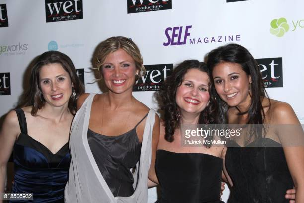 Victoria Pettibone Sabine Singh Sasha Eden Emmanuelle Chriqui attend WET Presents LOVE A Benefit to Support WET's 10th Season at The Angel Orensanz...