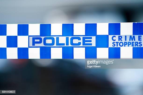 Victoria Police Tape, Melbourne