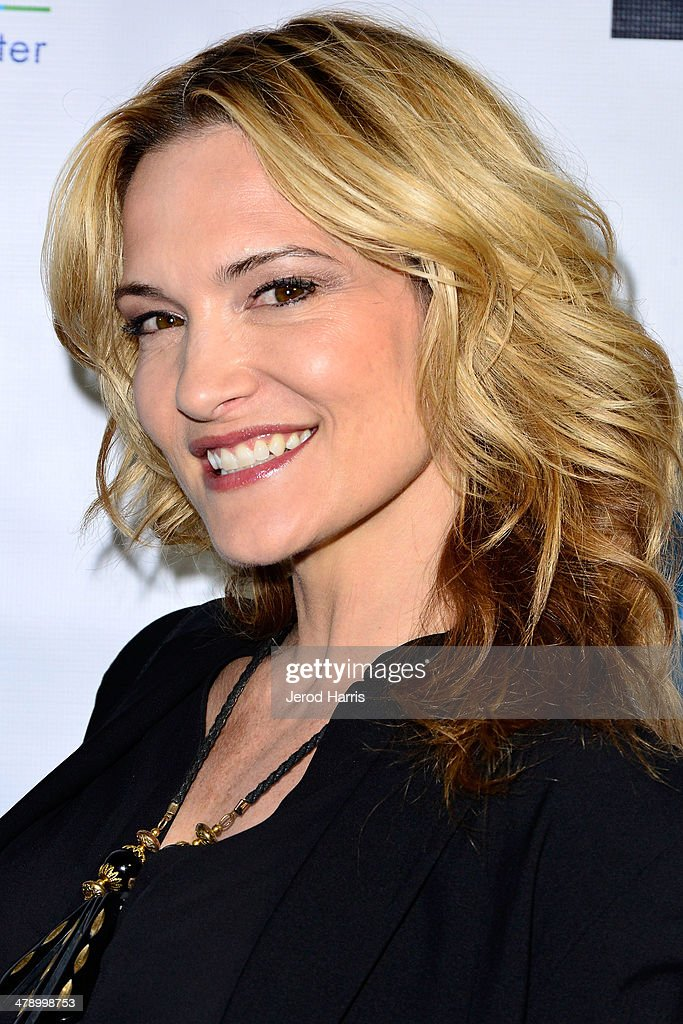 Victoria Pratt arrives at the Dream Builders Project's 'A Brighter Future For Children' benefit at H.O.M.E. on March 15, 2014 in Beverly Hills, California.