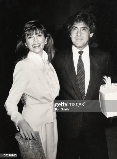 Victoria Principal and Dr Harry Glassman during Victoria Principal and Dr Harry Glassman sighting at Heidi Hagman's Wedding October 29 1983 at Larry...