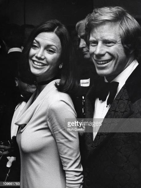 Victoria Principal and guest during Victoria Principal and guest sighting at the Motion Picture Academy for the Robin Marian Screening March 26 1982...