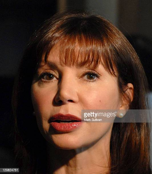 Victoria Principal during 44th Annual ICG Publicists Awards Arrivals at Beverly Hilton Hotel in Beverly Hills California United States