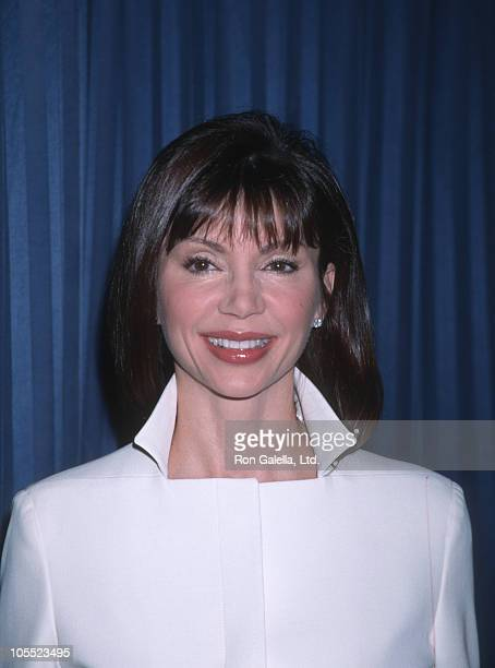 Victoria Principal during 57th Annual Golden Globe Nominations December 20 1999 at Beverly Hilton Hotel in Beverly Hills California United States