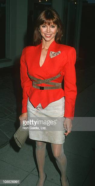 Victoria Principal during Butter Wilson Jewerly Store Opening June 15 1988 at Hollywood Boulevard in Hollywood California United States