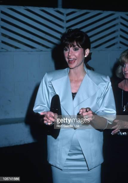 Victoria Principal during Victoria Principal Sighted at Spago's Restaurant September 16 1986 at Spago's Restaruant in Hollywood California United...