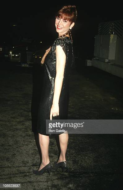 Victoria Principal during Victoria Principal Sighted at Spago's Restaurant February 7 1987 at Spago's Restaurant in Hollywood California United States