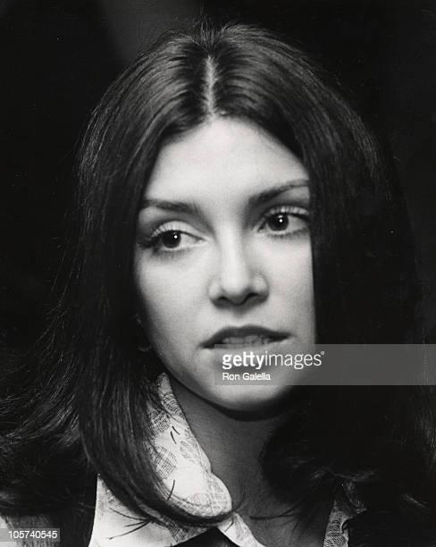 Victoria Principal during Victoria Principal sighting at Pips Club April 4 1973 at Pips Club in Beverly Hills California United States