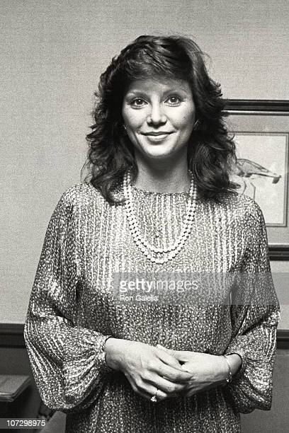 Victoria Principal during Victoria Principal sighting at the National Hairdressers Cosmotologists Stlyemaker of the Year July 20 1981 at New York...