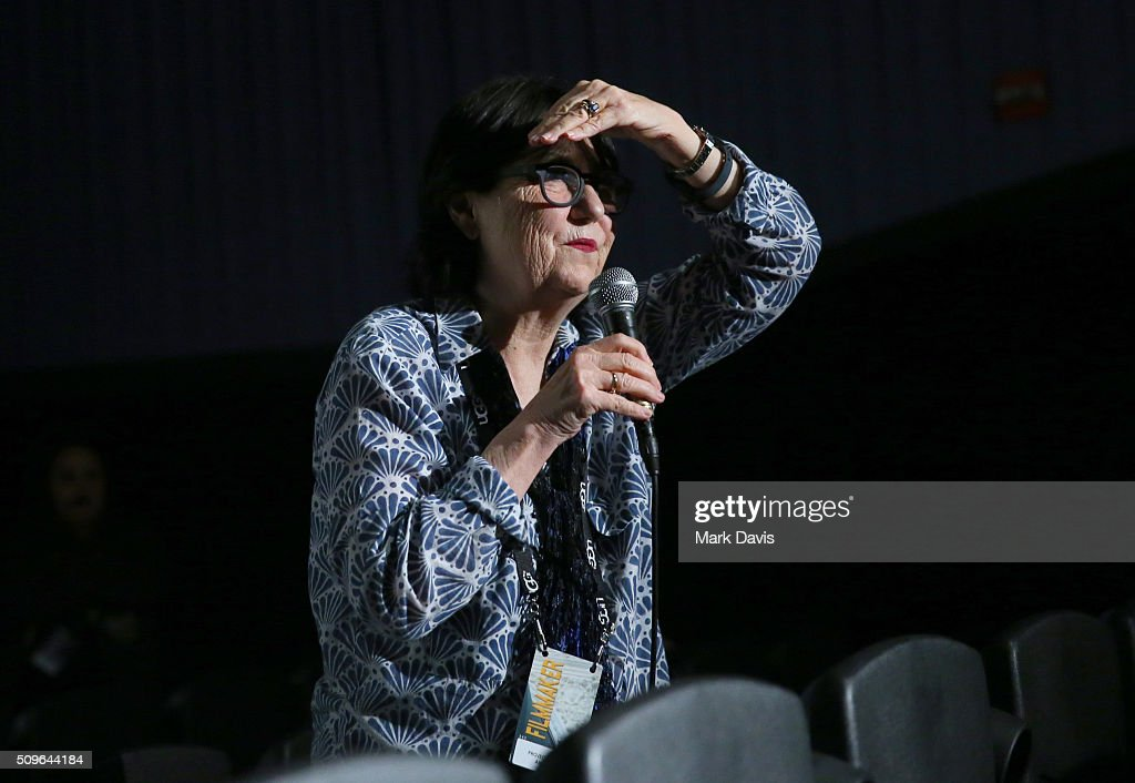 Victoria Riskin speaks at the 'Projections of America' Q&A at the Fiesta during the 31st Santa Barbara International Film Festival on February 11, 2016 in Santa Barbara, California.