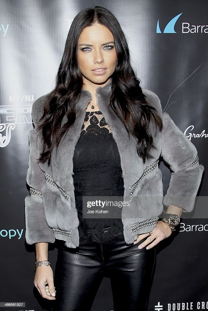 Victoria Secret model <a gi-track='captionPersonalityLinkClicked' href=/galleries/search?phrase=Adriana+Lima&family=editorial&specificpeople=182444 ng-click='$event.stopPropagation()'>Adriana Lima</a> attends the 11th Annual 'Leather & Laces' Party at The Liberty Theatre on February 1, 2014 in New York City.