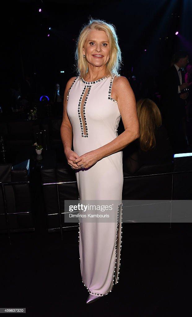 Victoria Secret Sharon Turney attends the 2014 Victoria's Secret Fashion Show Show Front Row PreCocktail Reception at Earl's Court exhibition centre...