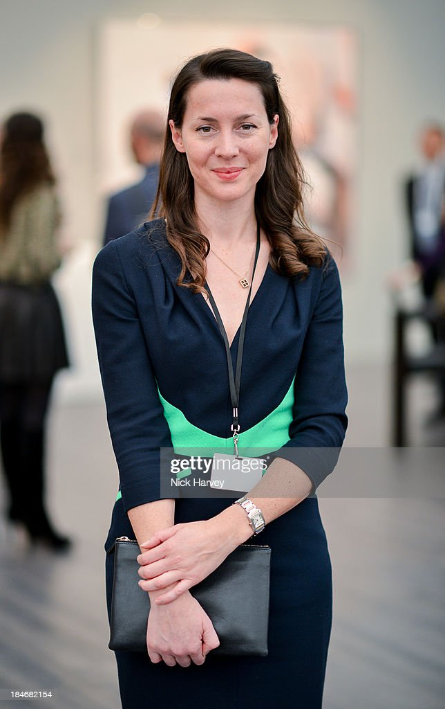 Victoria Siddall attends the private view for Frieze Masters on October 15, 2013 in London, England.
