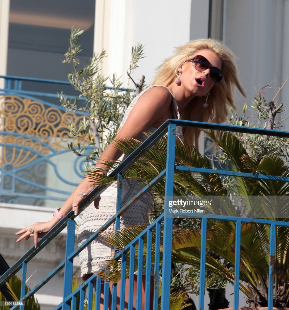 Victoria Silverstedt sighted at the Martinez hotel during The 66th Annual Cannes Film Festival on May 20, 2013 in Cannes, France.