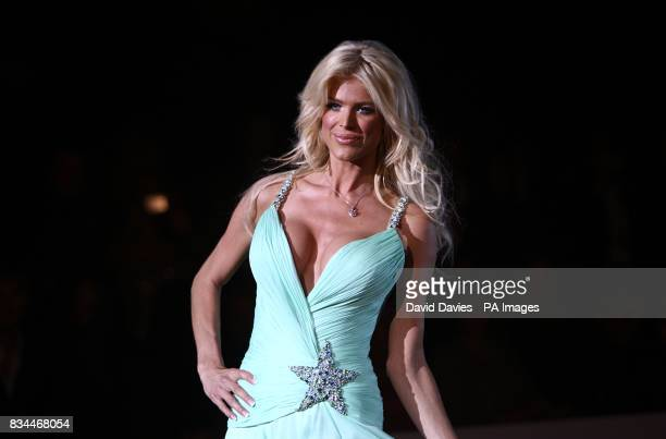 Victoria Silvestedt models at the Grand Prix and Fashion Unite at The Amber Lounge Le Meridien Beach Plaza Hotel Monaco