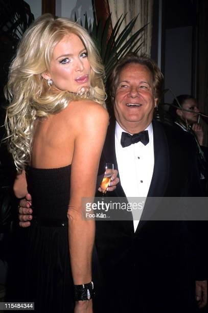 Victoria Silvstedt and Massimo Gargia during 2006 The Best Awards Ceremony 30th Edition at Royal Monceau Hotel in Paris France