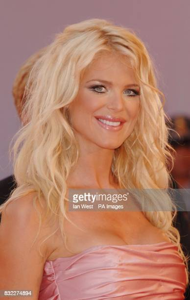 Victoria Silvstedt arrives for the premiere of new film The Devil Wears Prada at the Palazzo del Casinoin Venice Italy during the 63rd Venice Film...