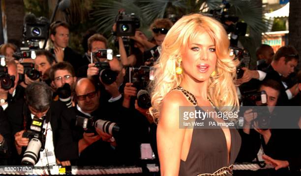 Victoria Silvstedt arrives for the screening of My Blueberry Nights Picture date Wednesday 16 May 2007 Photo credit should read Ian West/PA Wire