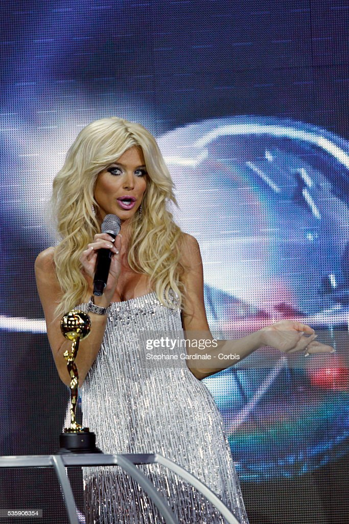 Victoria Silvstedt at the 'World Music Awards 2010 - show' at the Sporting Club in Monte Carlo, Monaco.