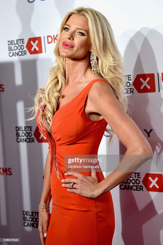 Victoria Silvstedt attends the 10th Annual Delete Blood Cancer DKMS Gala at Cipriani Wall Street on May 5, 2016 in New York City.
