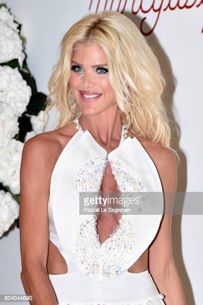 Victoria Silvstedt attends the 69th Monaco Red Cross Ball Gala at Sporting MonteCarlo on July 28 2017 in MonteCarlo Monaco