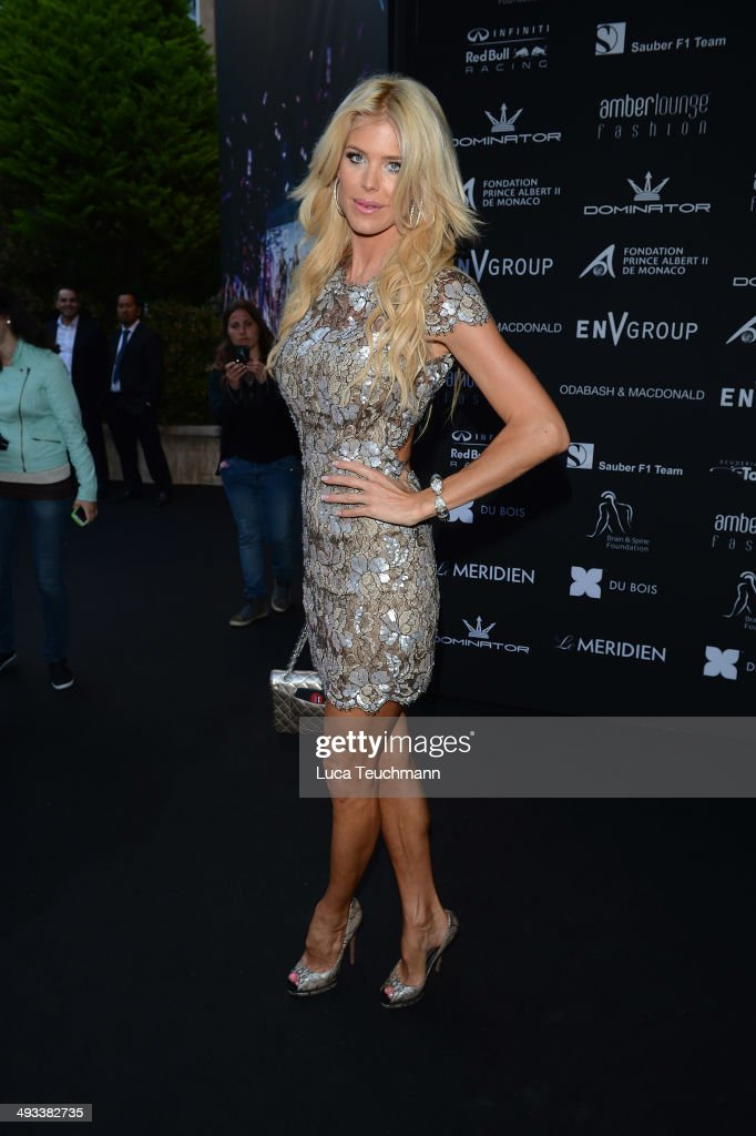 <a gi-track='captionPersonalityLinkClicked' href=/galleries/search?phrase=Victoria+Silvstedt&family=editorial&specificpeople=202866 ng-click='$event.stopPropagation()'>Victoria Silvstedt</a> attends the Amber Lounge 2014 Gala at Le Meridien Beach Plaza Hotel on May 23, 2014 in Monte-Carlo, Monaco.