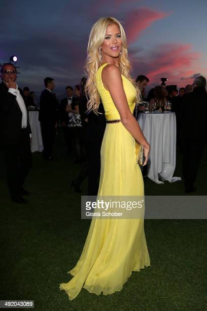 Victoria Silvstedt attends The Expendables 3 Official Cast Dinner Party at Gotha Club on May 18 2014 in Cannes France