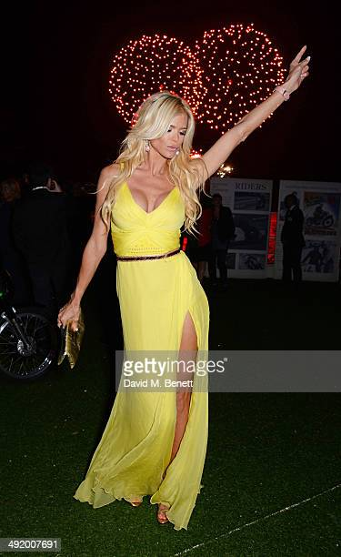 Victoria Silvstedt attends 'The Expendables 3' private dinner and party at Gotha Night Club at Palm Beach on May 18 2014 in Cannes France