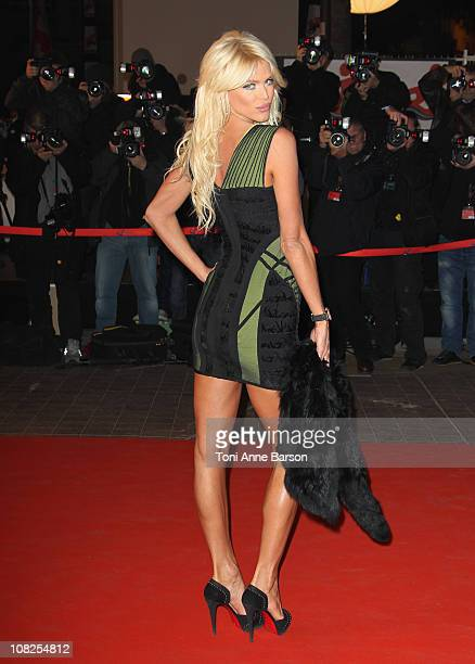Victoria Silvstedt attends the NRJ Music Awards 2011 on January 22 2011 in Cannes France