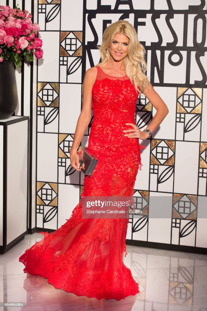 Victoria Silvstedt attends the Rose Ball 2017 To Benefit The Princess Grace Foundation at Sporting Monte-Carlo on March 18, 2017 in Monte-Carlo, Monaco.
