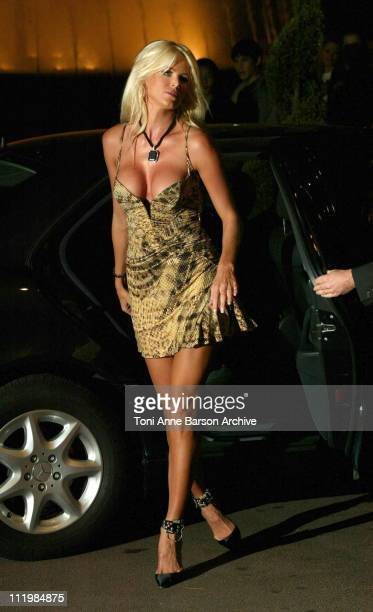 Victoria Silvstedt during 2003 Monte Carlo World Music Awards Arrivals at Monte Carlo Sporting Club in Monte Carlo Monaco