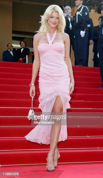 Victoria Silvstedt during 2004 Cannes Film Festival 'The Ladykillers' Premiere at Palais Du Festival in Cannes France