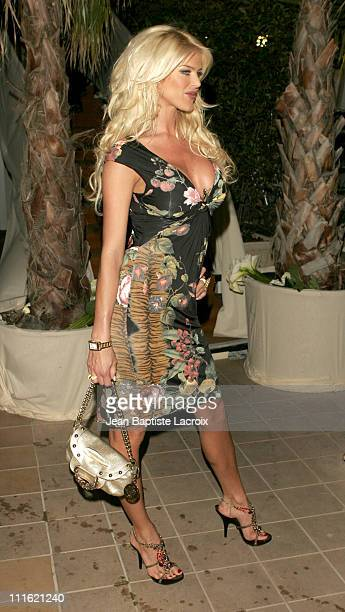 Victoria Silvstedt during 2005 Cannes Film Festival Chopard Hosts Dinner For Happy Star in Cannes France