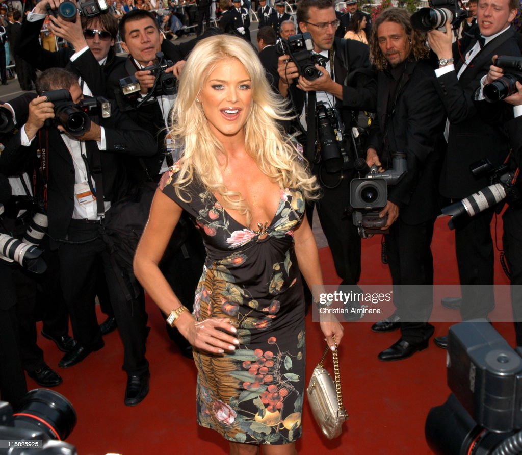 <a gi-track='captionPersonalityLinkClicked' href=/galleries/search?phrase=Victoria+Silvstedt&family=editorial&specificpeople=202866 ng-click='$event.stopPropagation()'>Victoria Silvstedt</a> during 2005 Cannes Film Festival - 'Match Point' Premiere in Cannes, France.