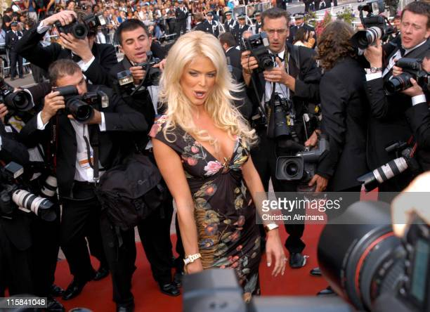 Victoria Silvstedt during 2005 Cannes Film Festival 'Match Point' Premiere in Cannes France