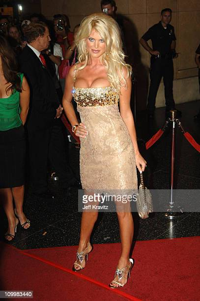 Victoria Silvstedt during 2005 World Music Awards Arrivals at Kodak Theater in Hollywood California United States