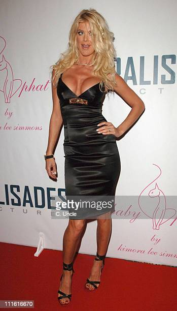 Victoria Silvstedt during 2006 Cannes Film Festival Palisades Pictures and Baby Phat Salute Independent Film Under The Stars at Hotel du Cap in...