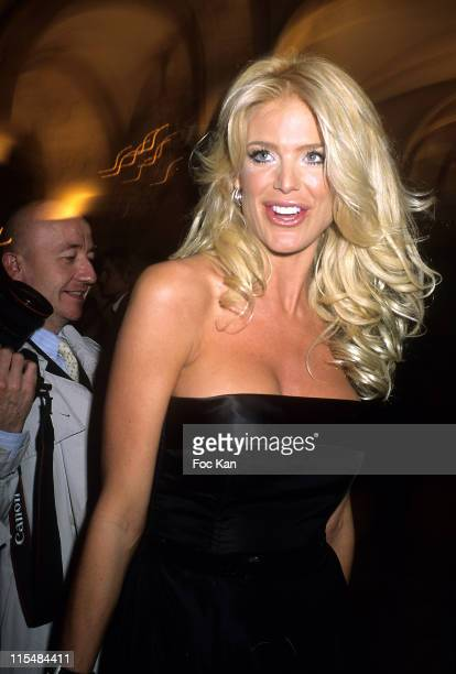 Victoria Silvstedt during 2006 The Best Awards Ceremony 30th Edition at Royal Monceau Hotel in Paris France