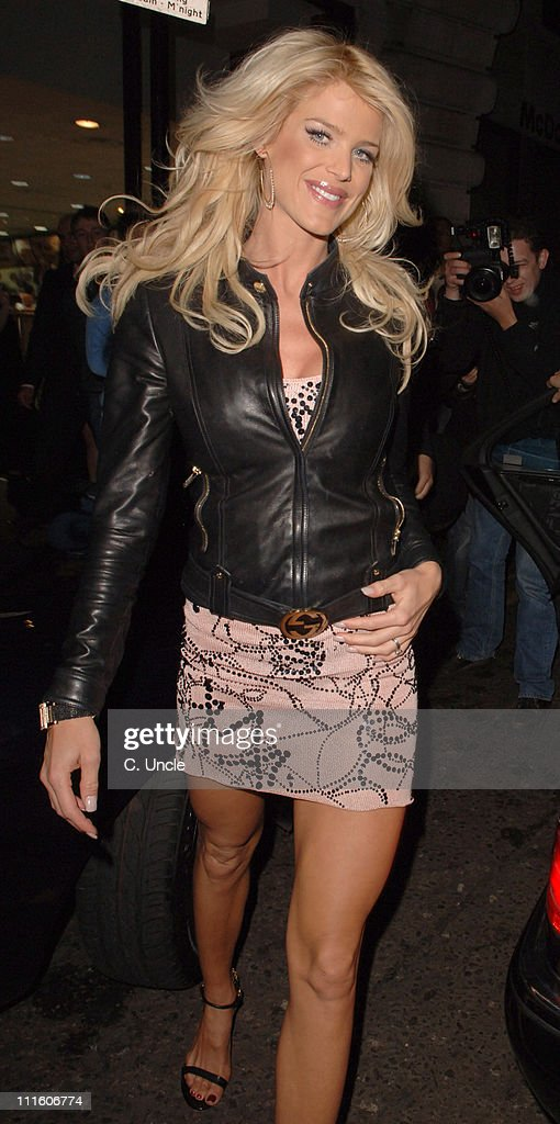 <a gi-track='captionPersonalityLinkClicked' href=/galleries/search?phrase=Victoria+Silvstedt&family=editorial&specificpeople=202866 ng-click='$event.stopPropagation()'>Victoria Silvstedt</a> during Calum, Fran and Dangerous Danan TV Launch at ChinaWhites in London, Great Britain.