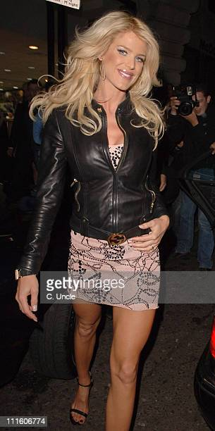 Victoria Silvstedt during Calum Fran and Dangerous Danan TV Launch at ChinaWhites in London Great Britain