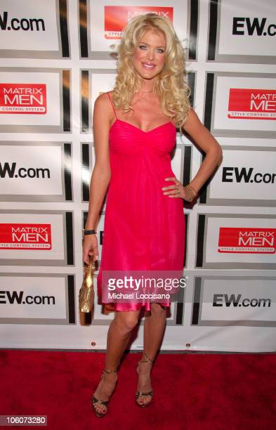 Victoria Silvstedt during Entertainment Weekly/Matrix Men 2006 Upfront Party at The Manor in New York City New York United States