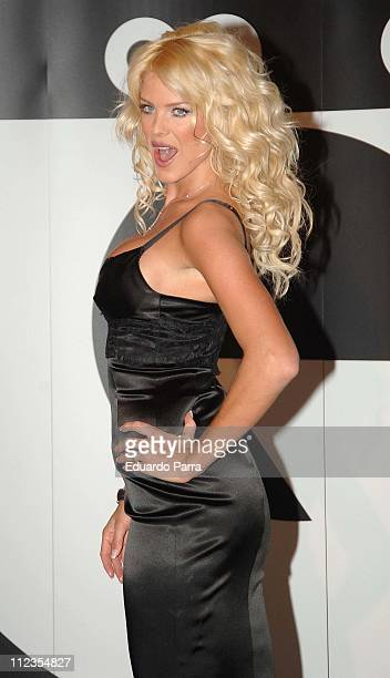 Victoria Silvstedt during GQ Magazine 2005 Men of the Year Awards Madrid November 29 2005 at Palace Hotel in Madrid in Madrid Spain