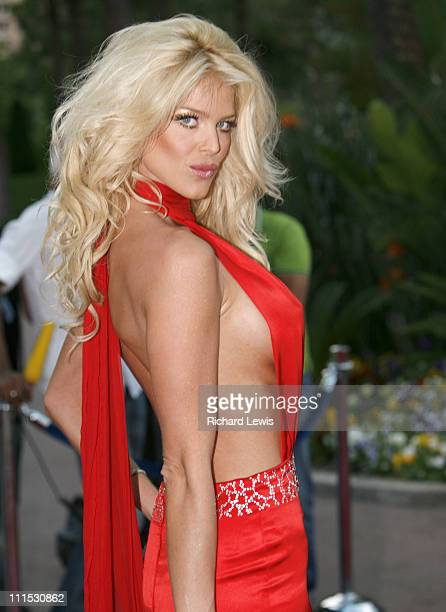 Victoria Silvstedt during La Dolce Vita Grand Prix Ball May 27 2006 at Les Salles des Etoiles in Monte Carlo Monaco
