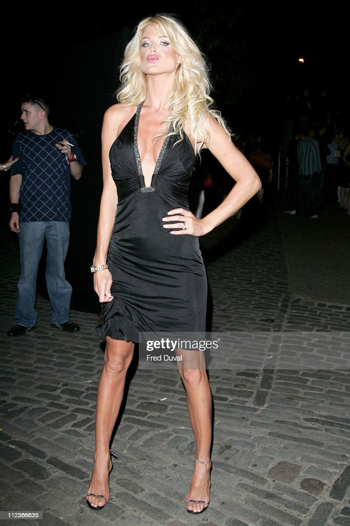 <a gi-track='captionPersonalityLinkClicked' href=/galleries/search?phrase=Victoria+Silvstedt&family=editorial&specificpeople=202866 ng-click='$event.stopPropagation()'>Victoria Silvstedt</a> during Lynx Boost Party - Outside Arrivals - July 6, 2006 at The Cross Nightclub in London, Great Britain.