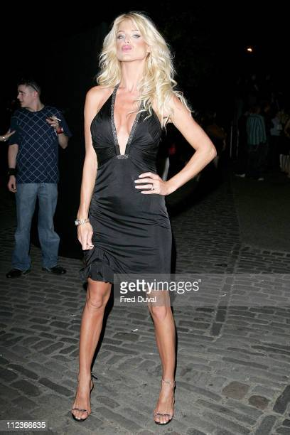 Victoria Silvstedt during Lynx Boost Party Outside Arrivals July 6 2006 at The Cross Nightclub in London Great Britain