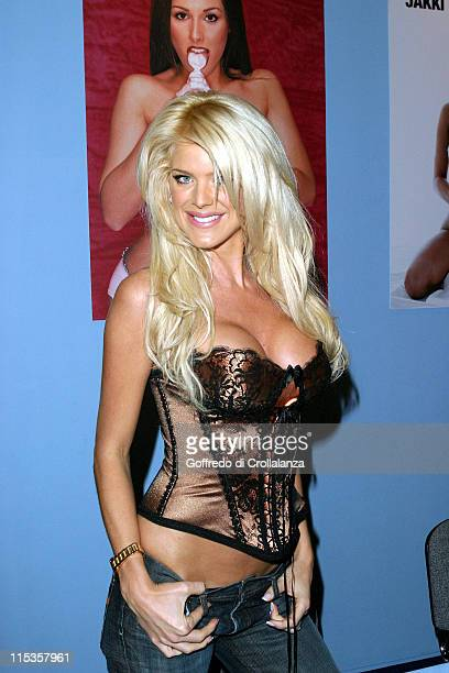Victoria Silvstedt during Max Power Motor Show Day 2 at Excel Centre in London Great Britain