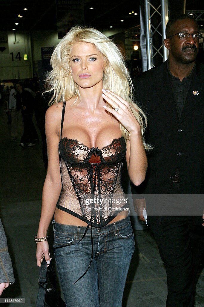 <a gi-track='captionPersonalityLinkClicked' href=/galleries/search?phrase=Victoria+Silvstedt&family=editorial&specificpeople=202866 ng-click='$event.stopPropagation()'>Victoria Silvstedt</a> during Max Power Motor Show - Day 2 at Excel Centre in London, Great Britain.