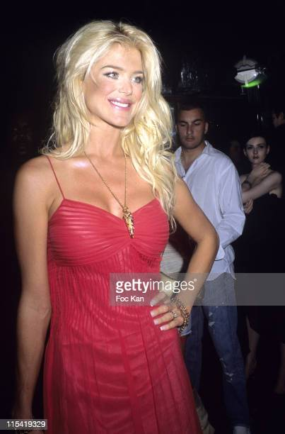 Victoria Silvstedt during Paris Hilton at The Mademoiselle Agency Party VIP Room at VIP Room in Cannes France